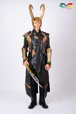 Loki costume fullbody front