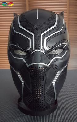 Black Panther costume helmet 2