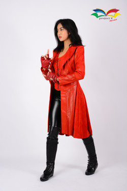 Scarlet Witch costume side fullbody