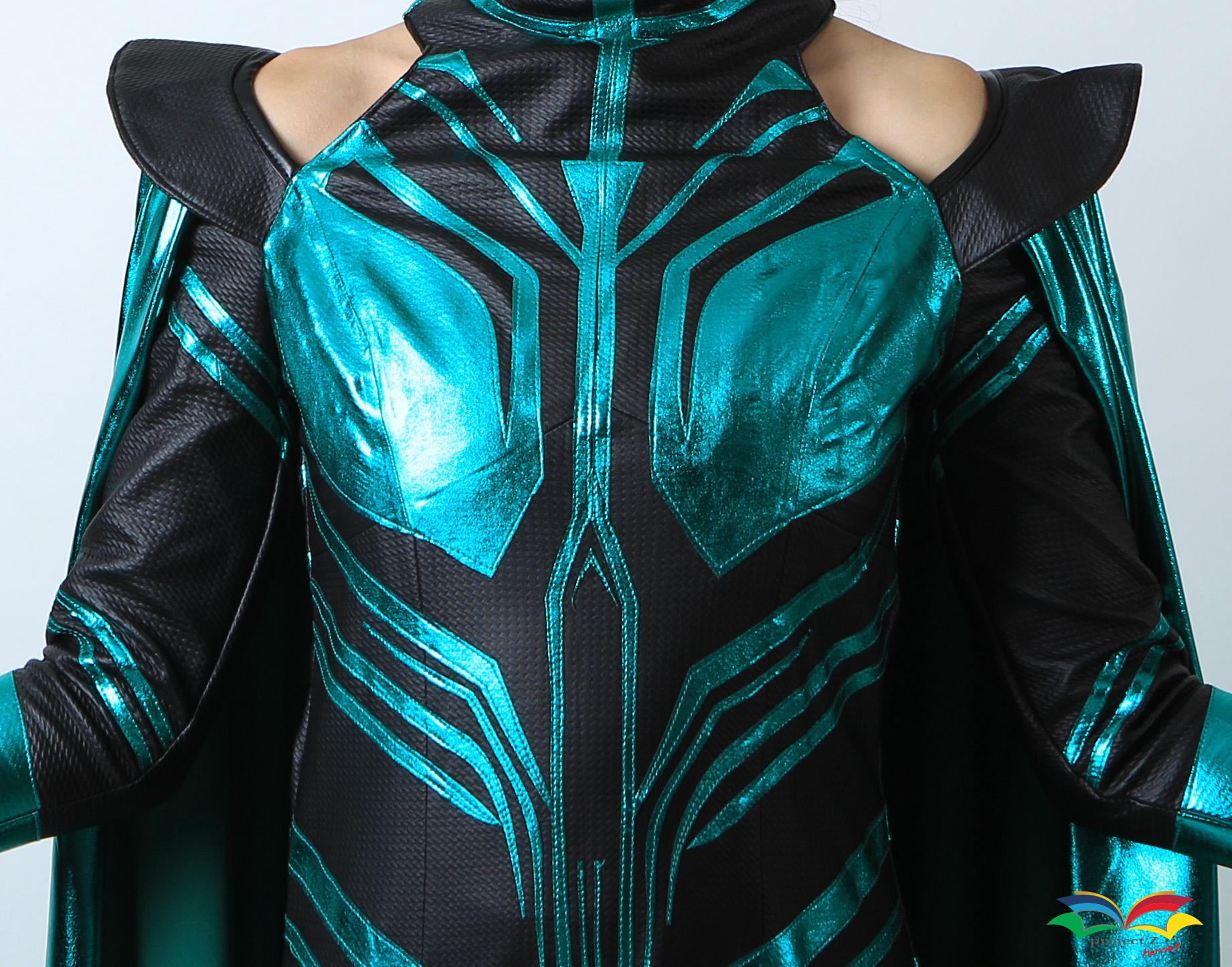 Hela costume texture closeup