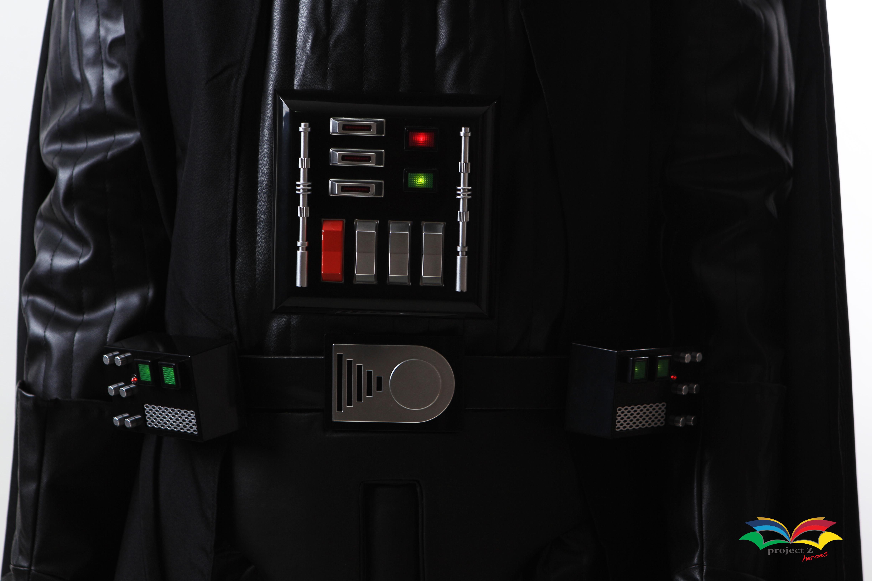 Darth Vader costume chest closeup