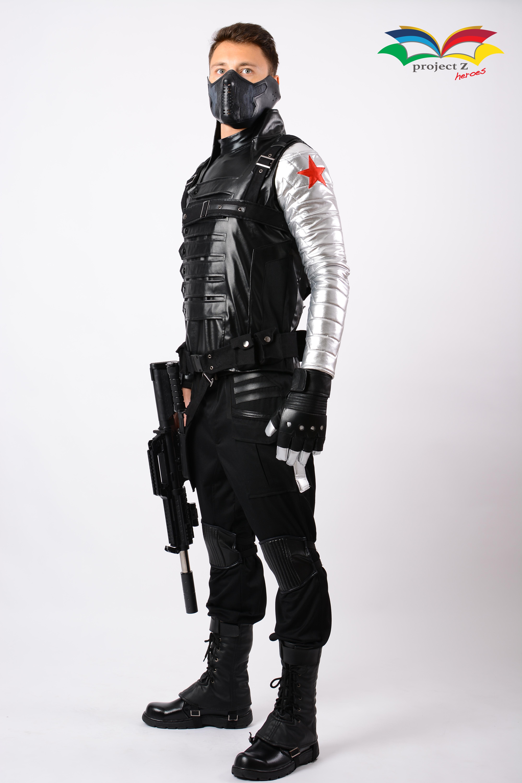 Winter Soldier costume fullbody