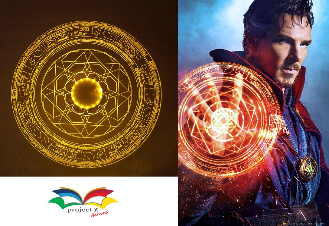 Dr Strange Magic Spell Disc