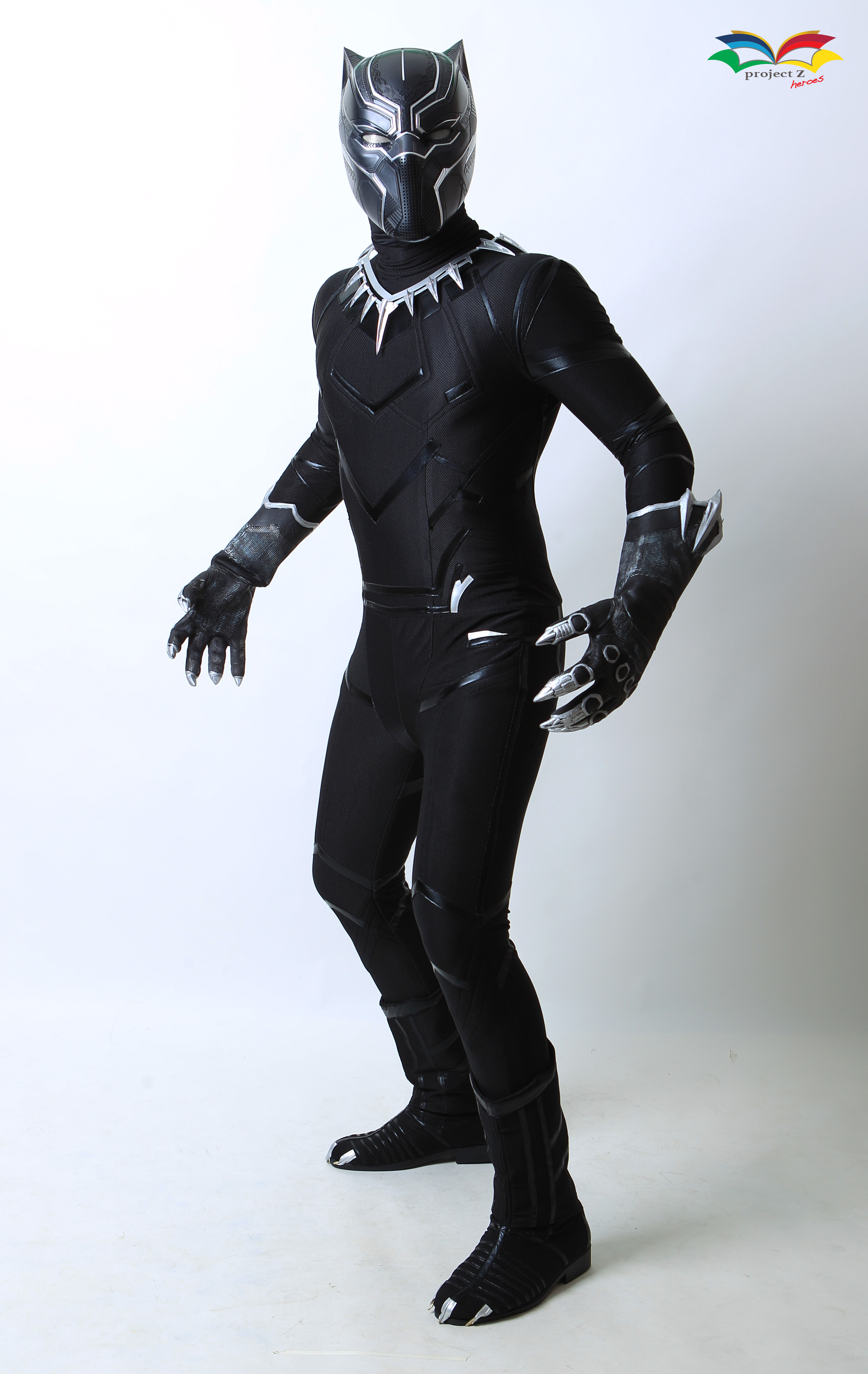 Black Panther costume front fullbody