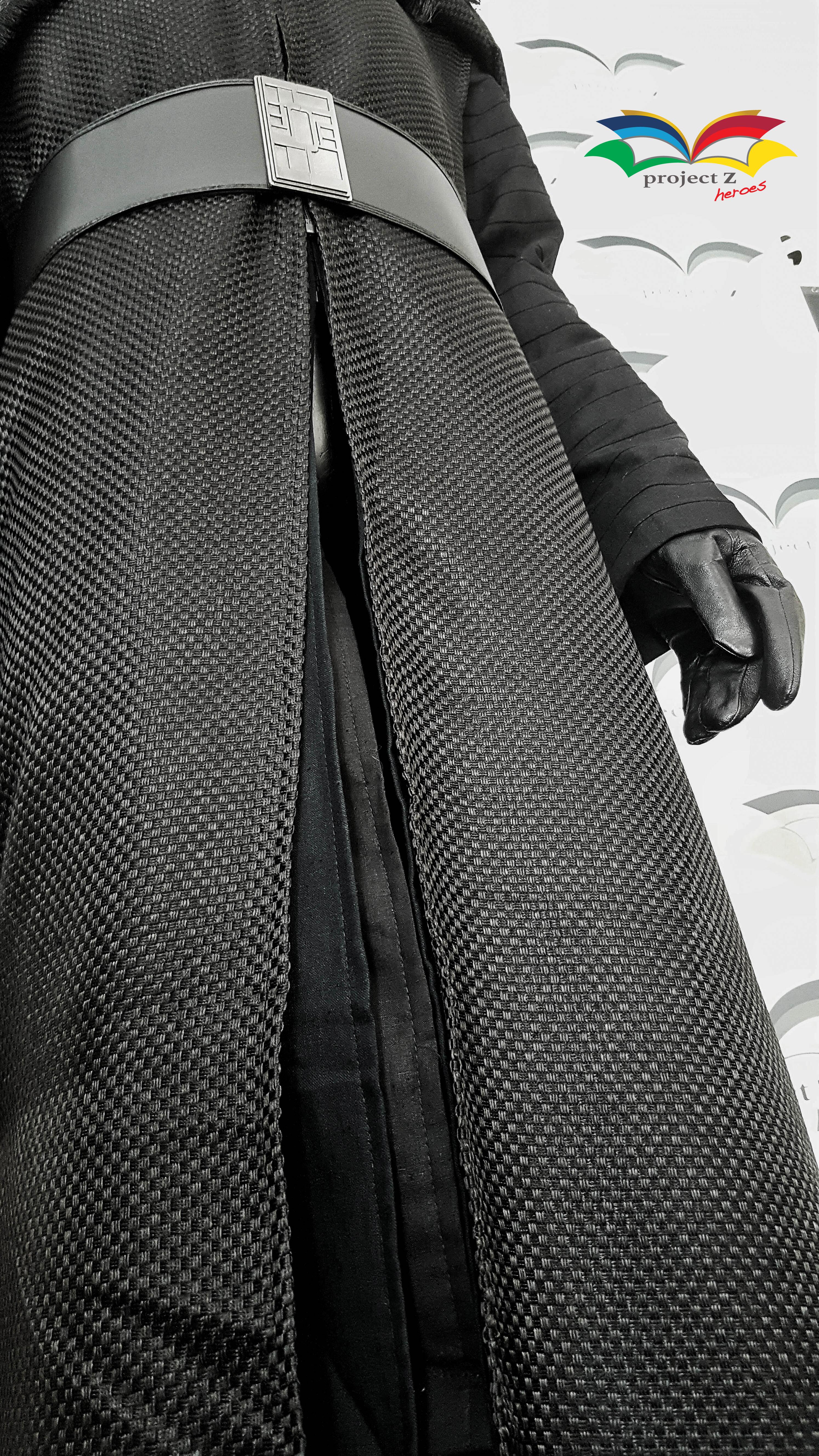 Kyro Ren Costume Coat detail low angle