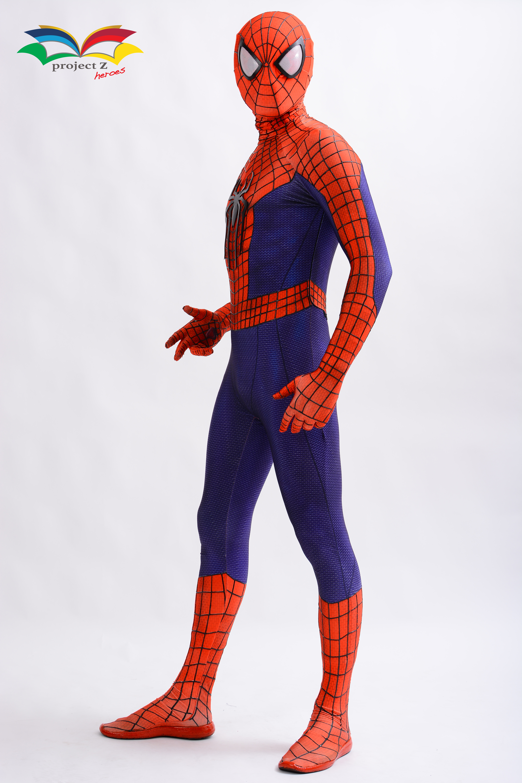 Spiderman costume fullbody