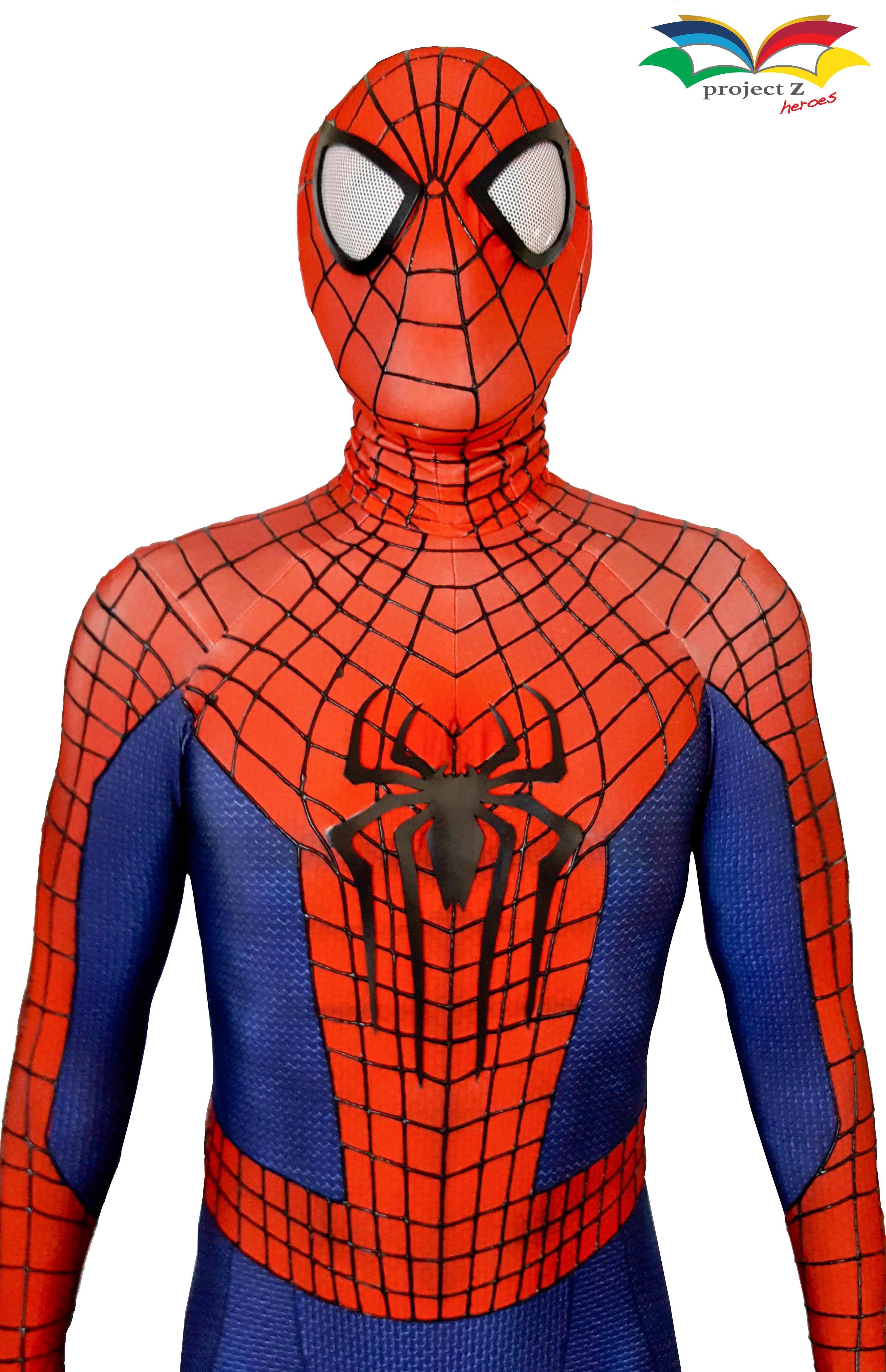 Spiderman costume closeup 1