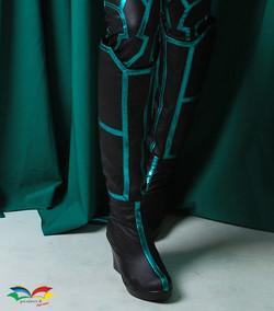 Hela costume boots closeup