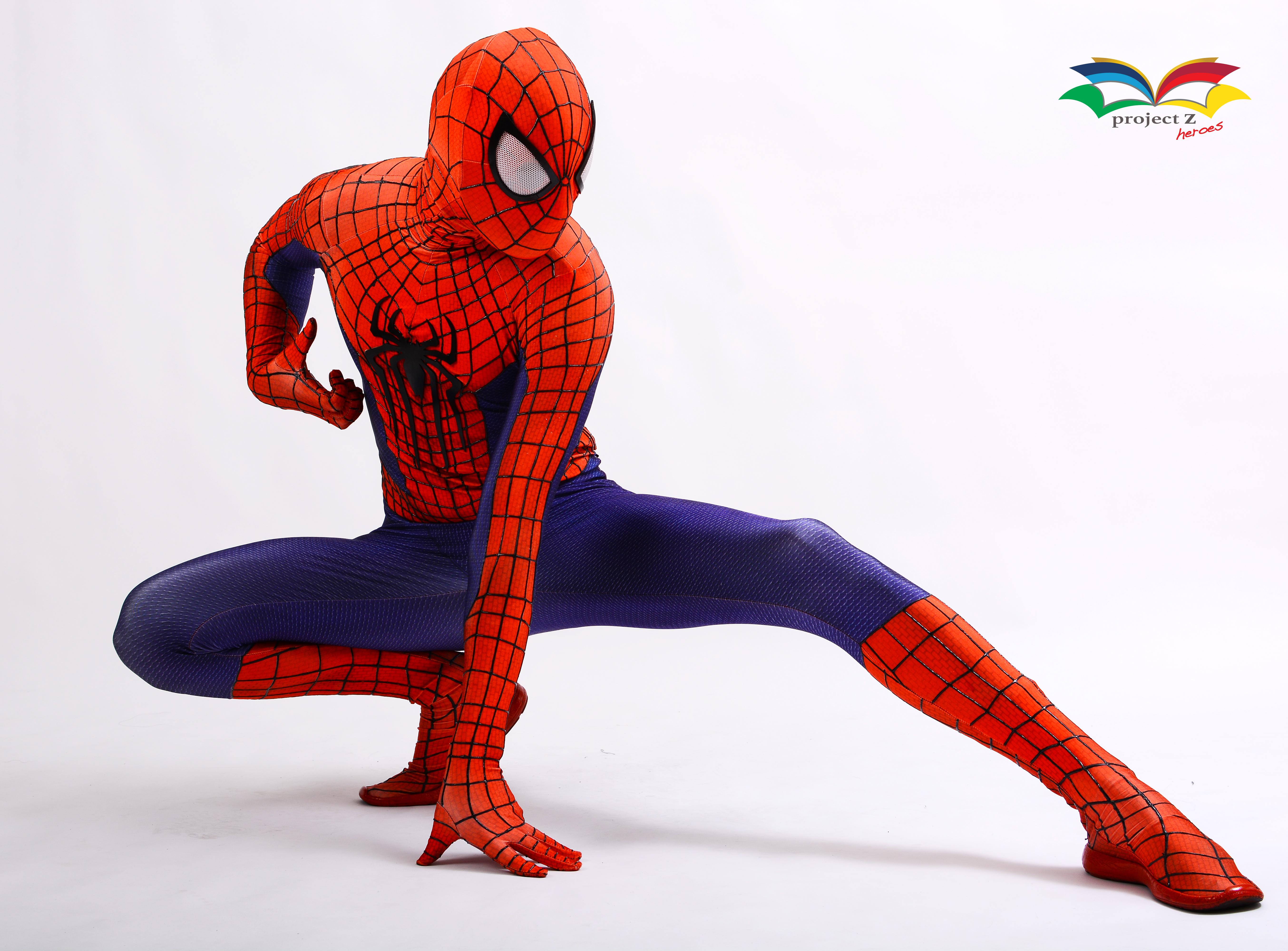 Spiderman costume post