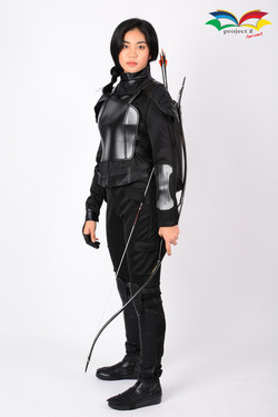 Hunger games Mocking Jay Katniss Everdeen costume 4
