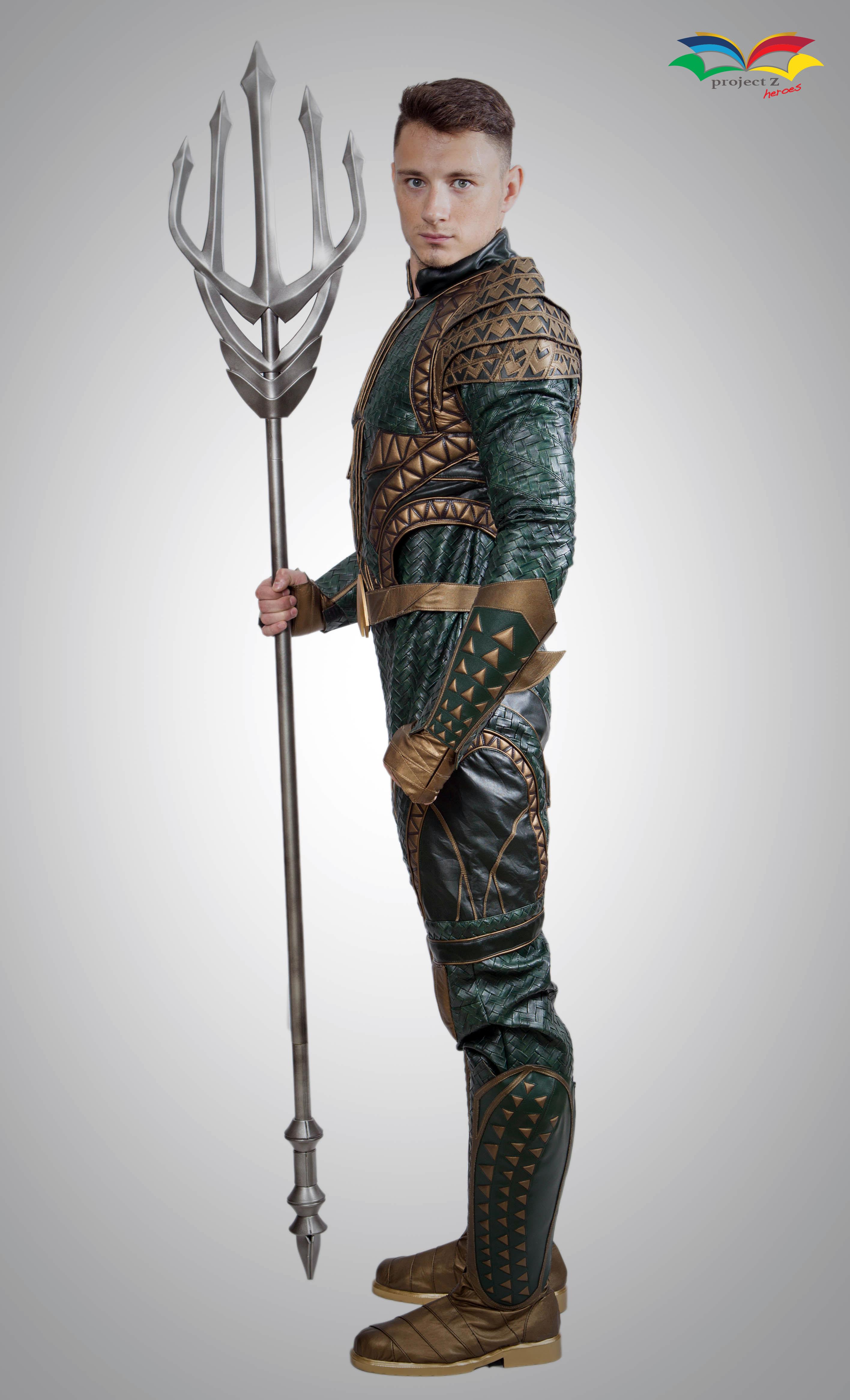 Aquaman costume sideway