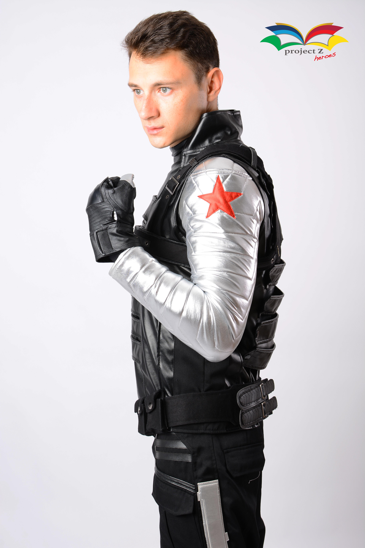 Winter Soldier costume arm