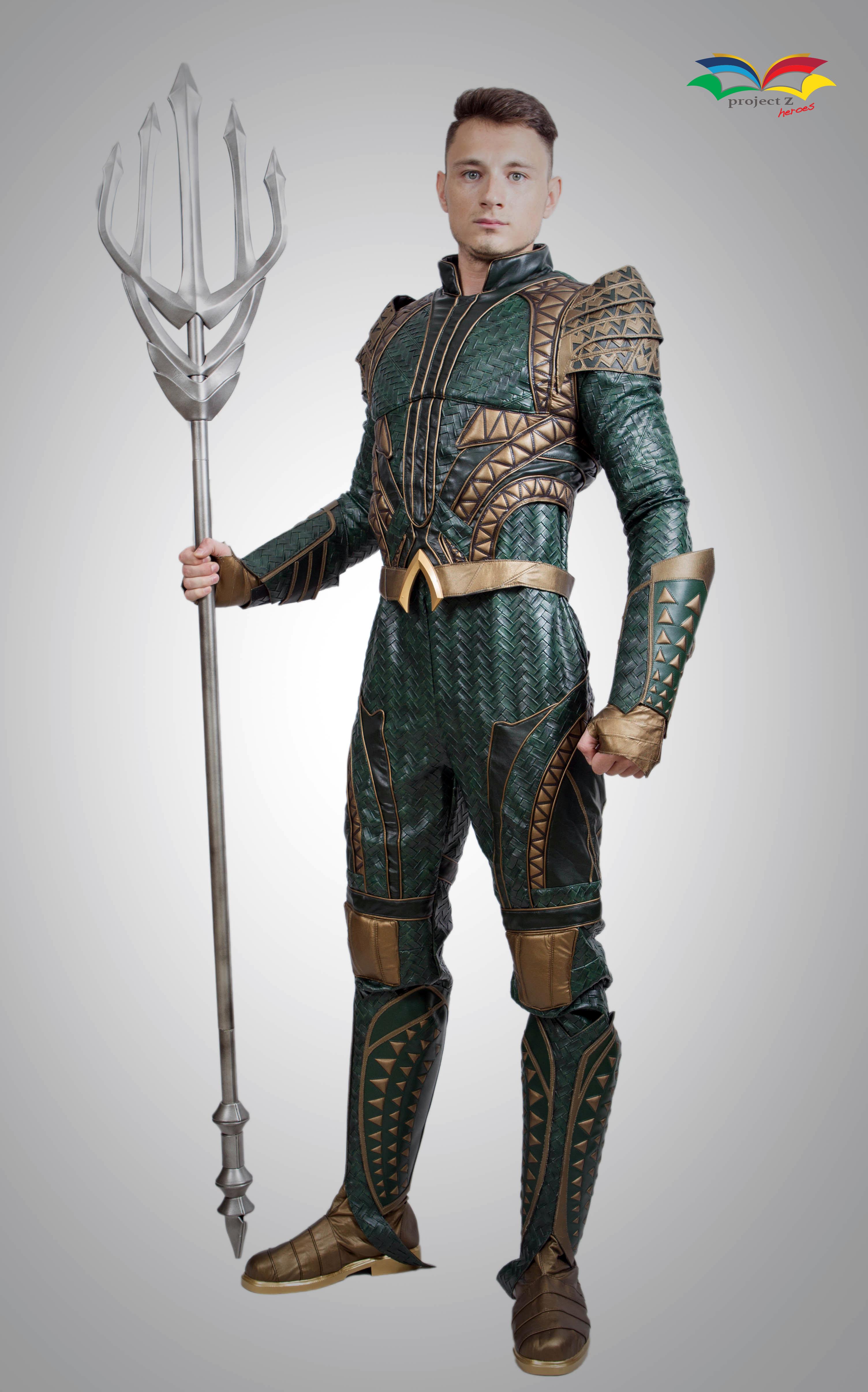 Aquaman costume front