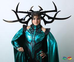 Hela costume front halfbody