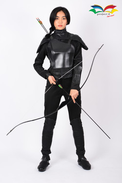 Hunger games Mocking Jay Katniss Everdeen costume 1
