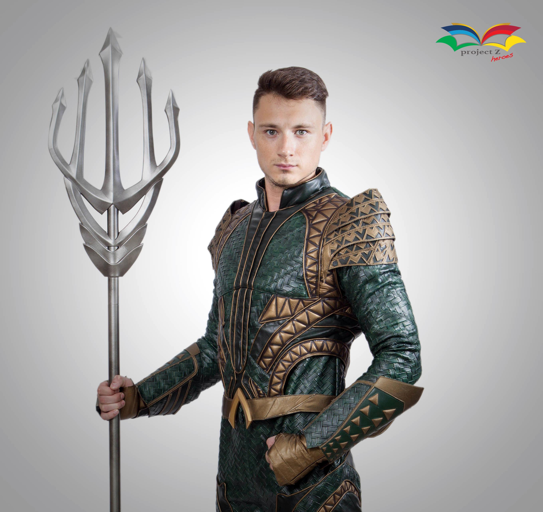 Aquaman costume closeup copy