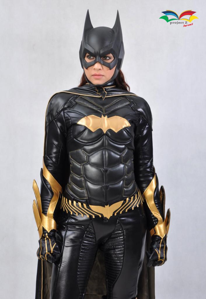 Batgirl costume front closeup