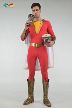 ชุดซุปเปอร์ฮีโร่ ชาแซม Shazam costume