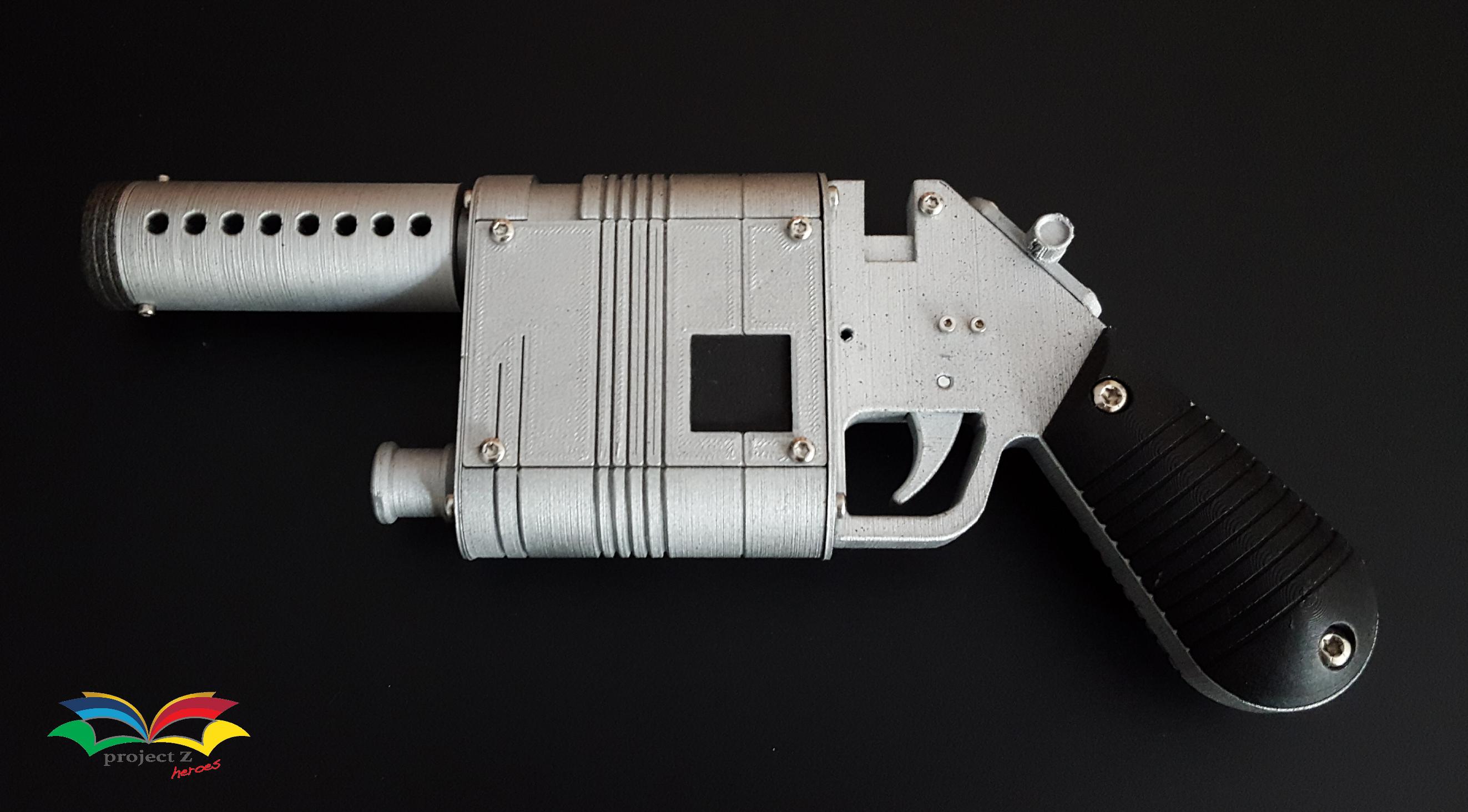 Rey Star Wars blaster