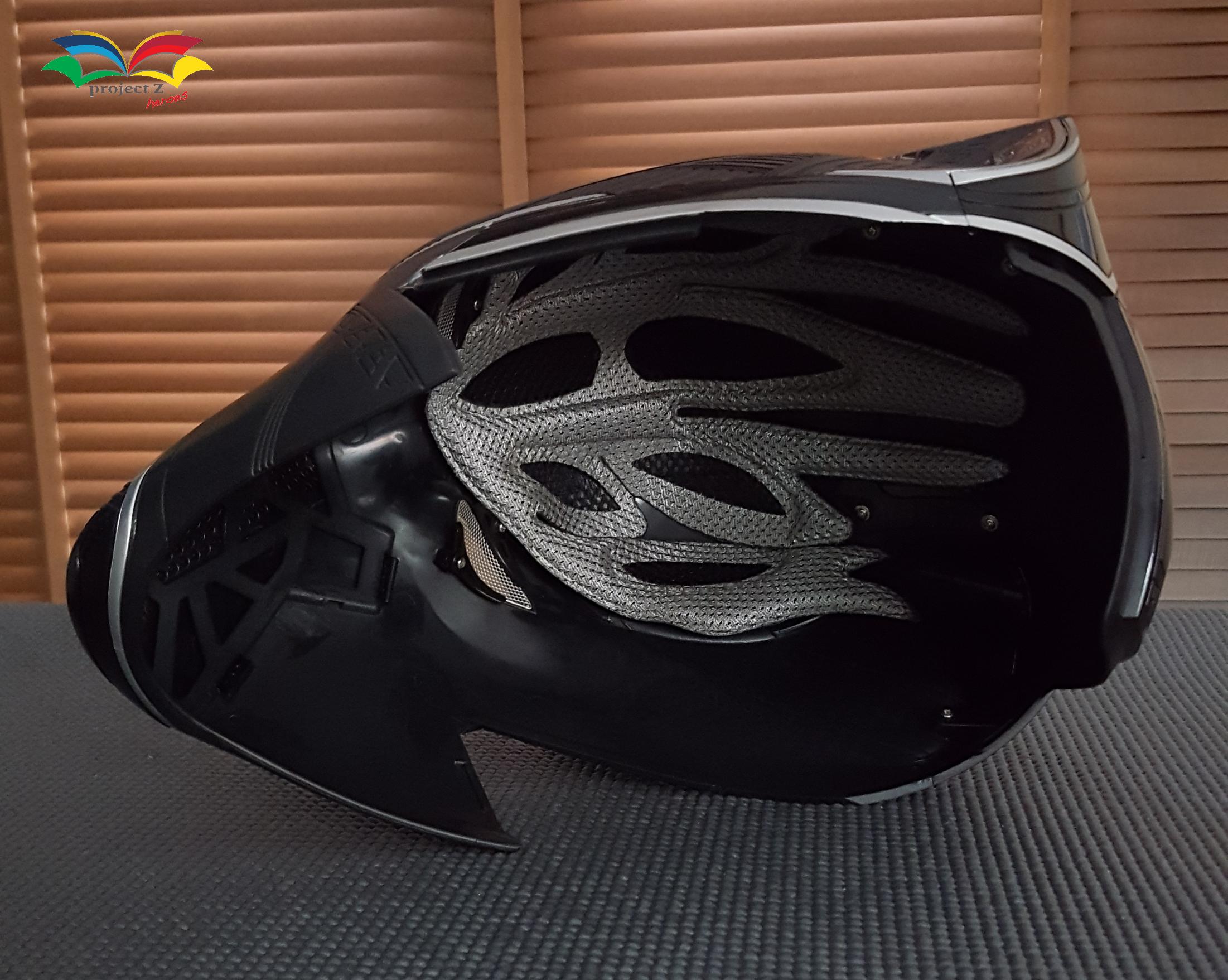 Black Panther costume helmet 4