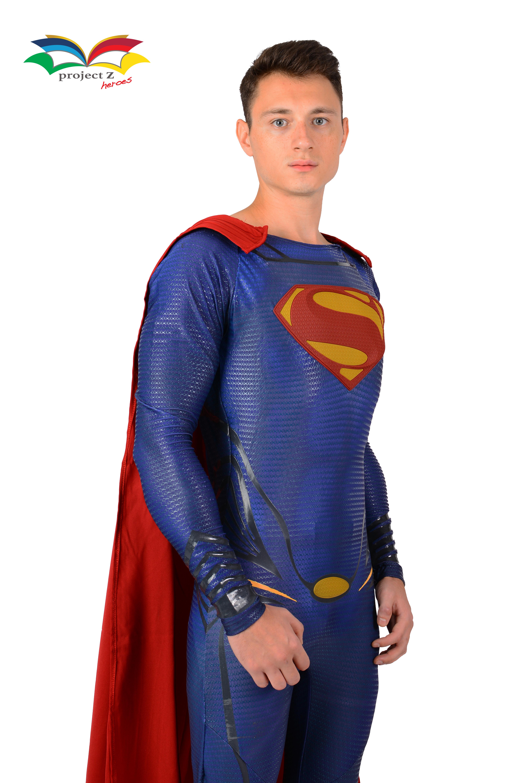 superman costume halfbody