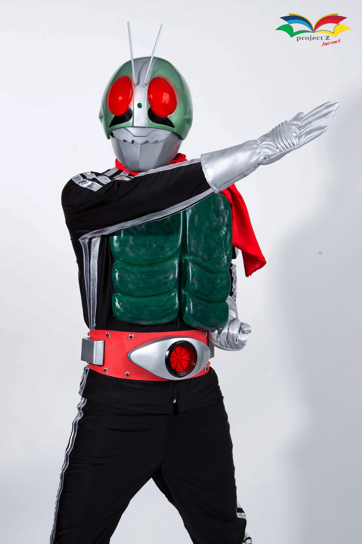 ชุดซุปเปอร์ฮีโร่มดแดง v1 Superhero costu