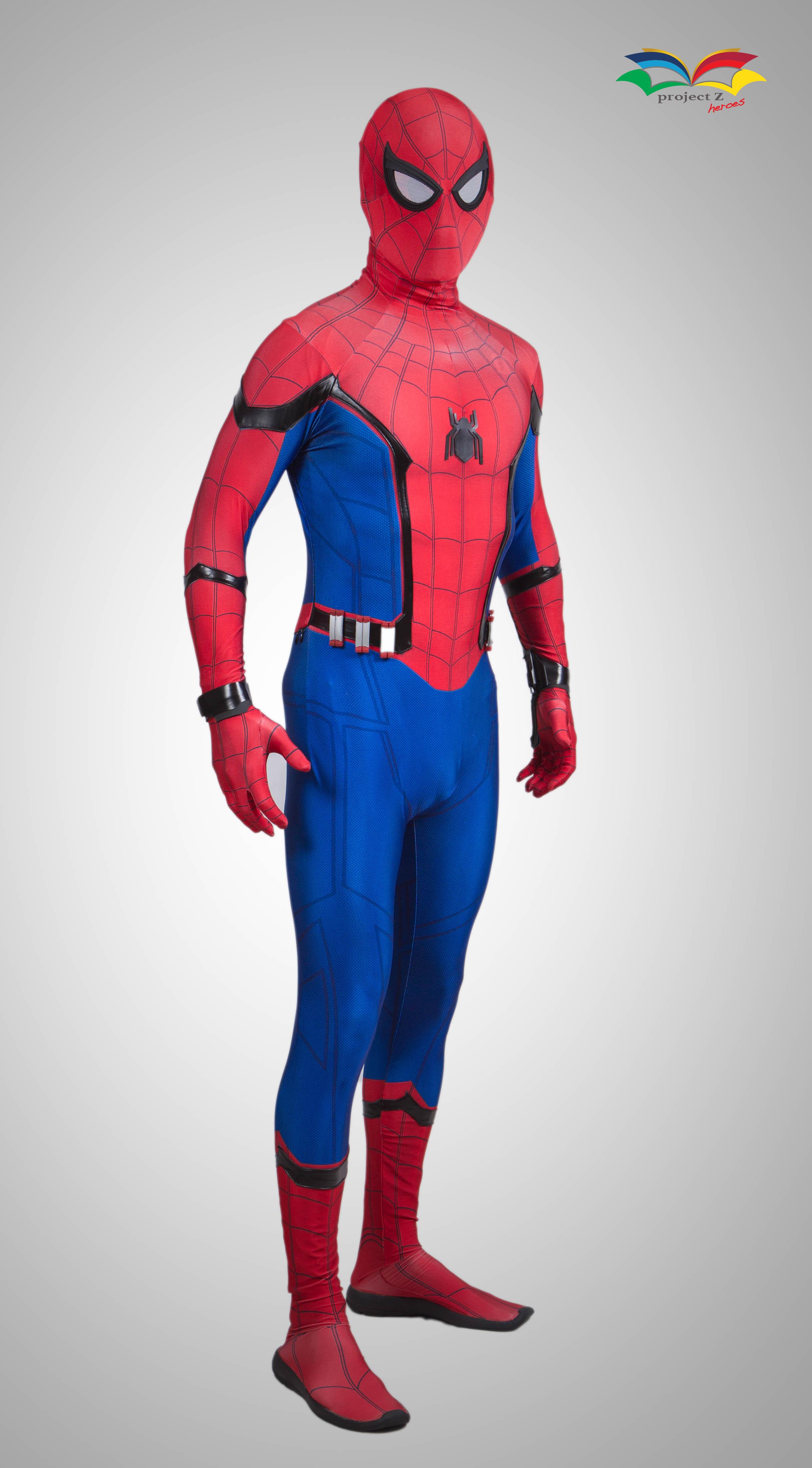 Spiderman homecoming costume frontsideway 1