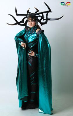 Hela costume sideway fullbody