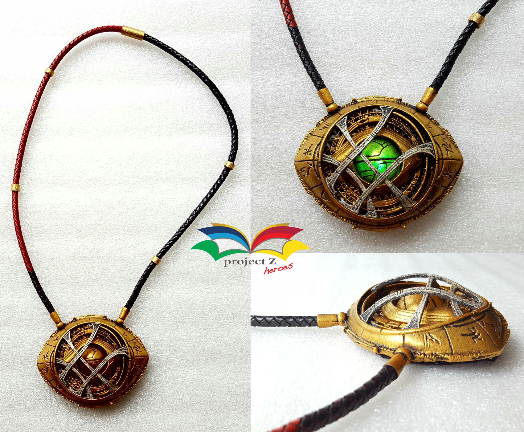Dr Strange costume necklace eye of Agamotto