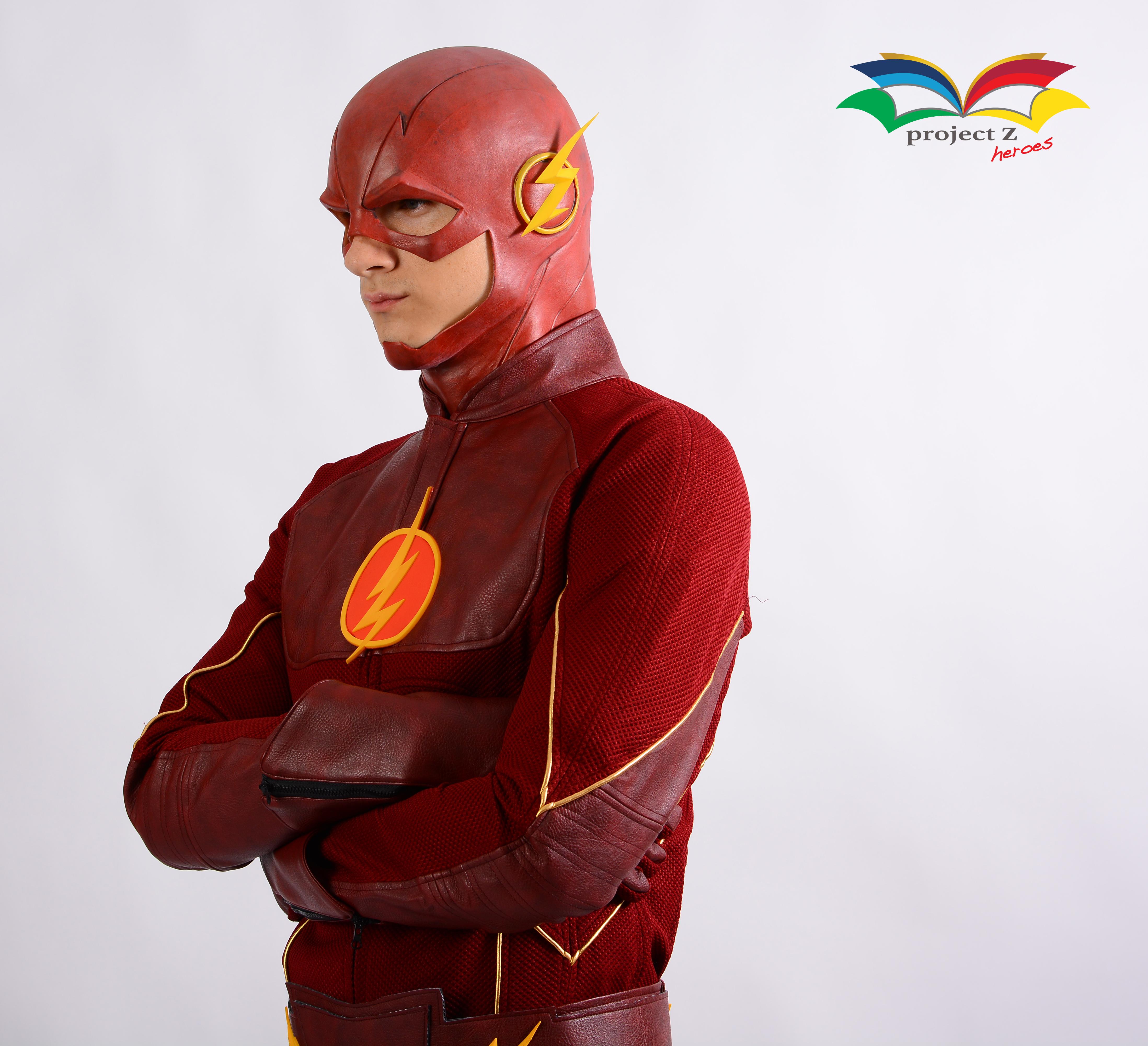 Flash costume 3
