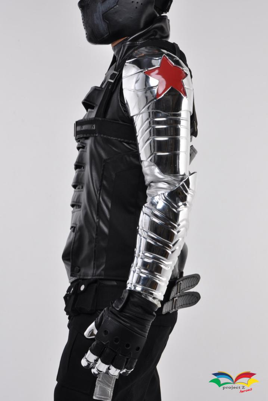 Winter Soldier Arm sideway