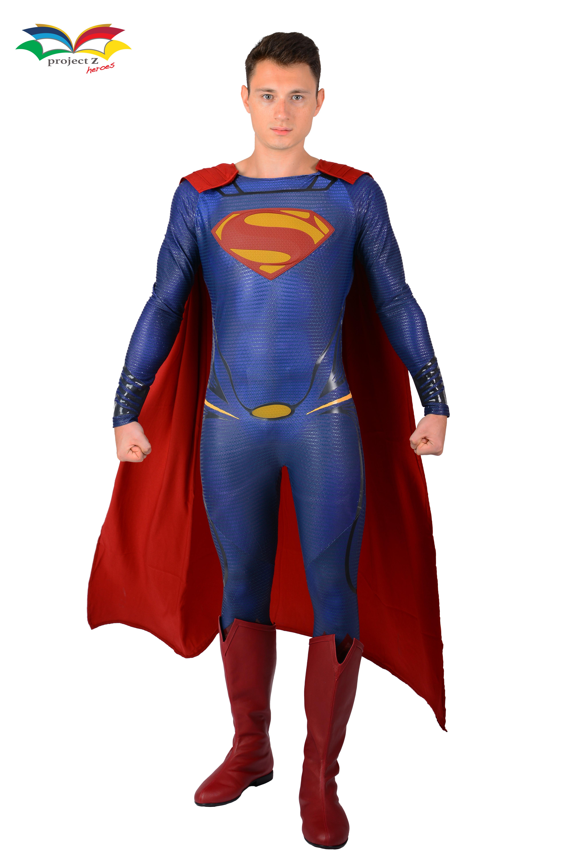 Superman costume fullbody