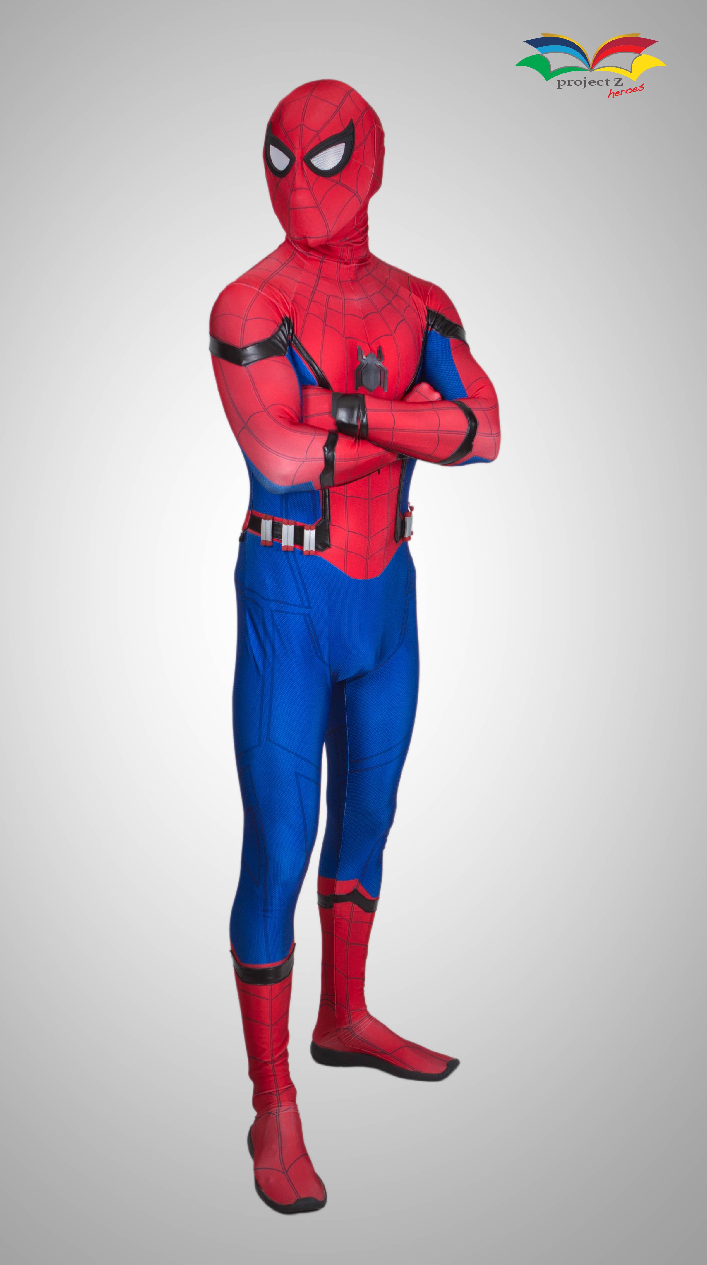 spiderman homecoming costume armcross