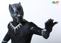 Black Panther costume closeup 2