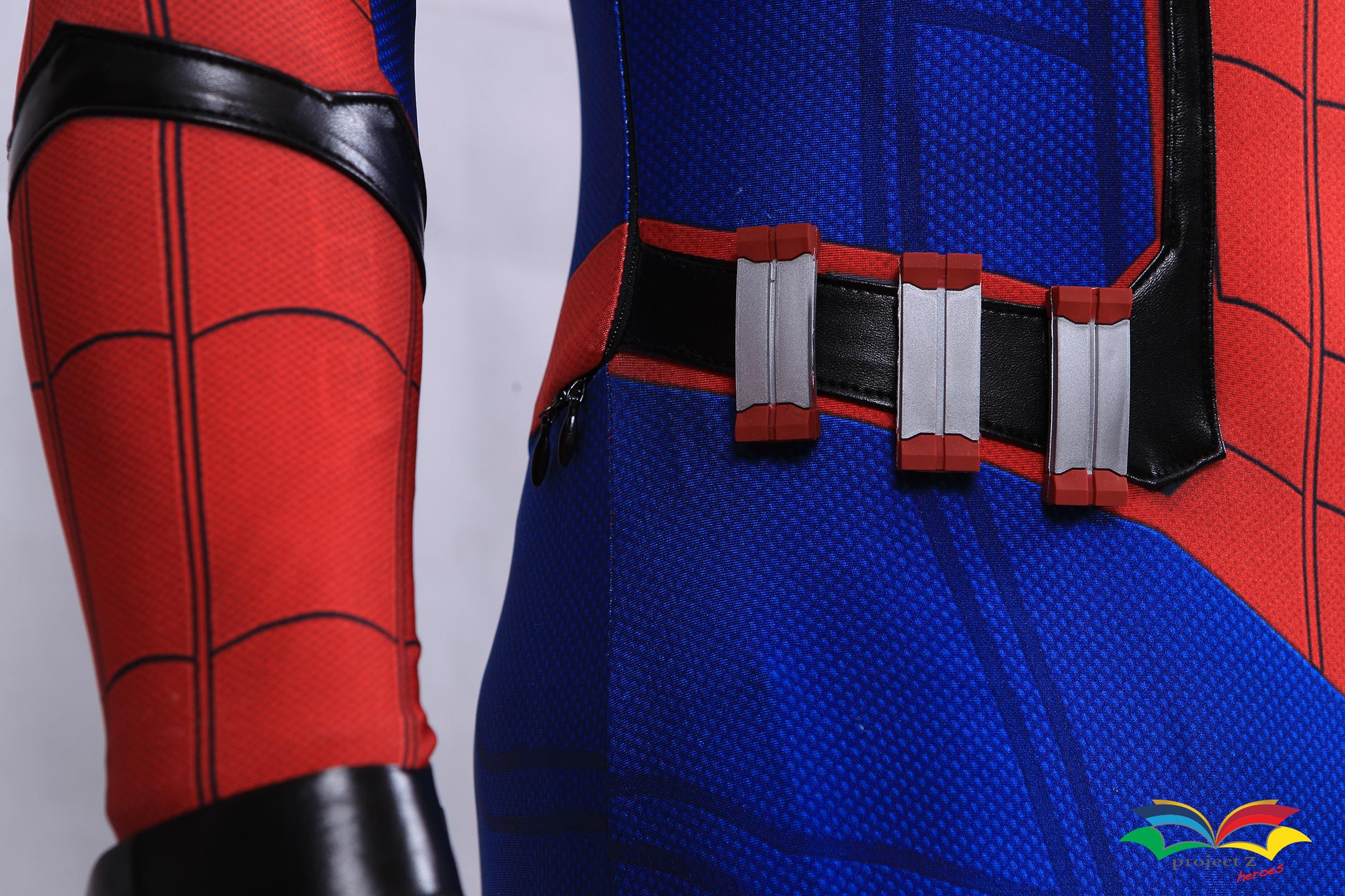 Spiderman homecoming costume web cartridges