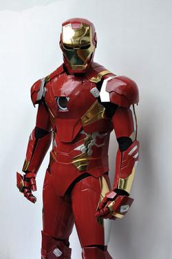 Ironman costume front closeup