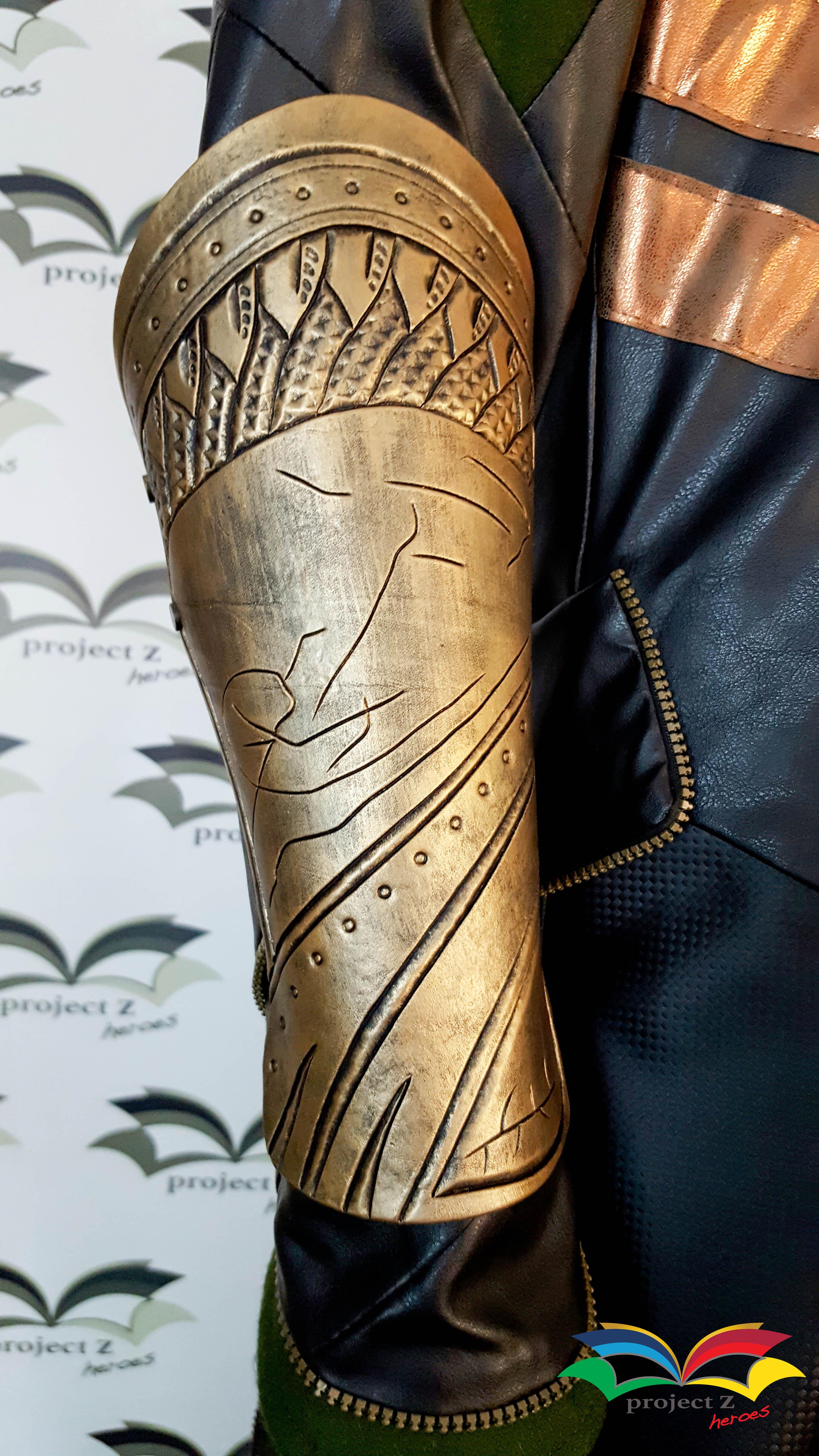 Loki costume bracer