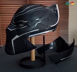 black panther helmet 2 pieces