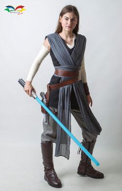 Rey Star War costume fullbody front