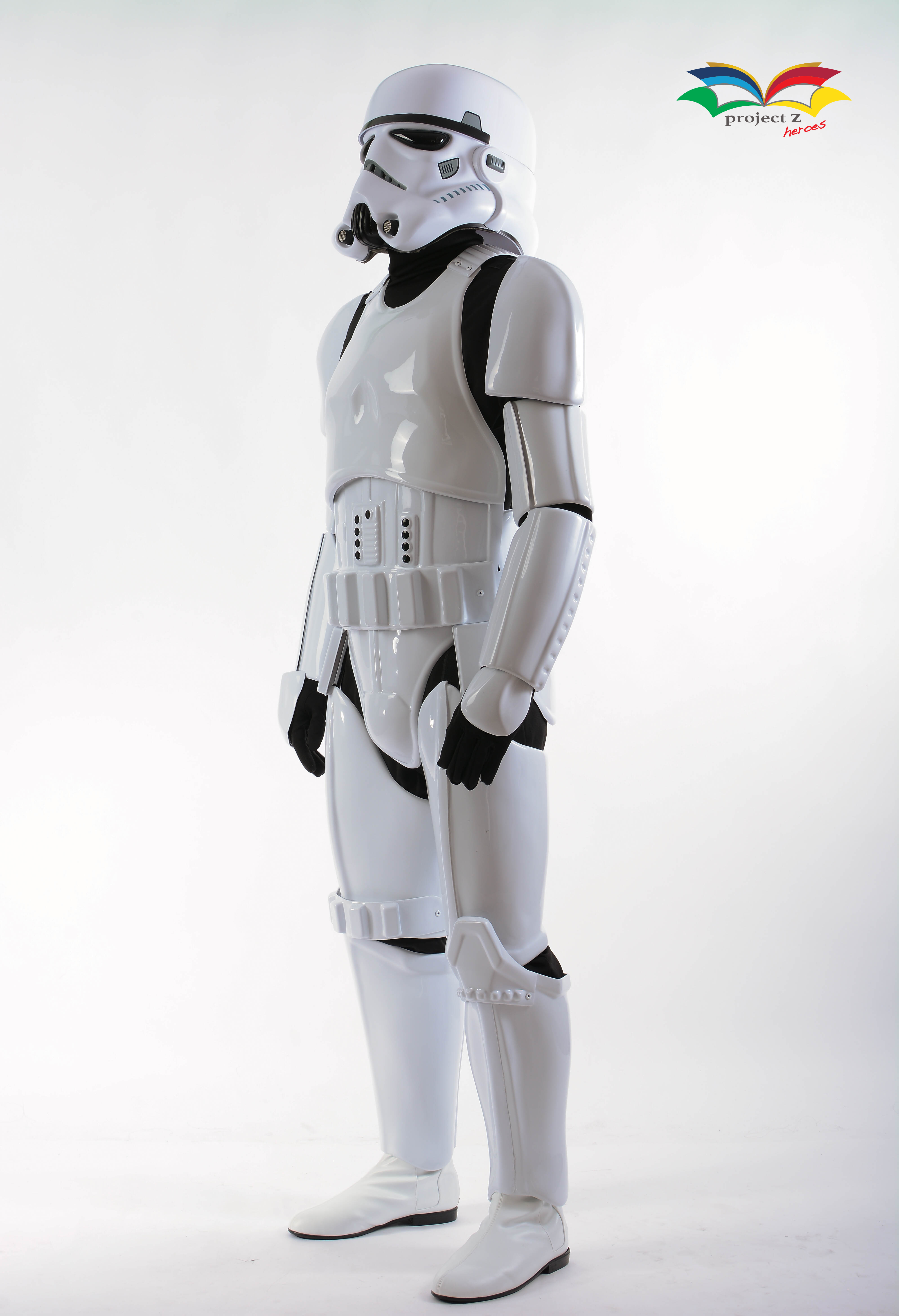 stormtrooper costume side without gun