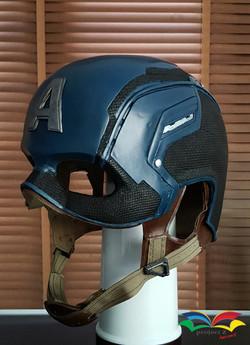 Captain America costume helmet