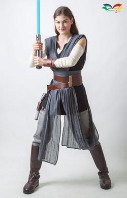 Rey Star War costume fullbody front act2