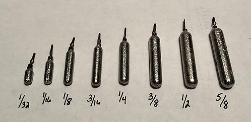 Finesse Drop Shot Weights (10 pack)