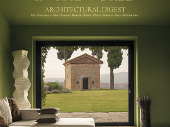 Публикация в юбилейном издании Architectural Digest