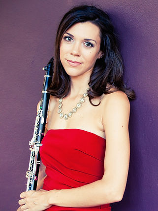 Jackie Glazier clarinet hot