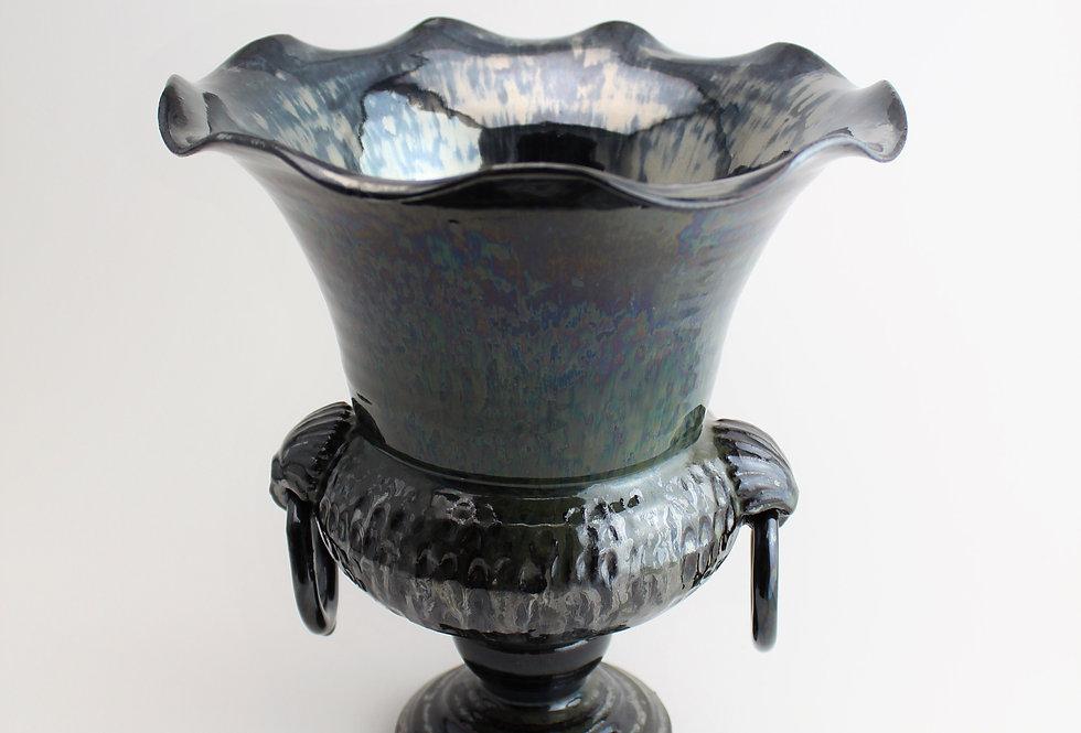 Metallic Urn