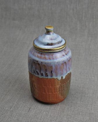 Wood Fired Jar, Opal