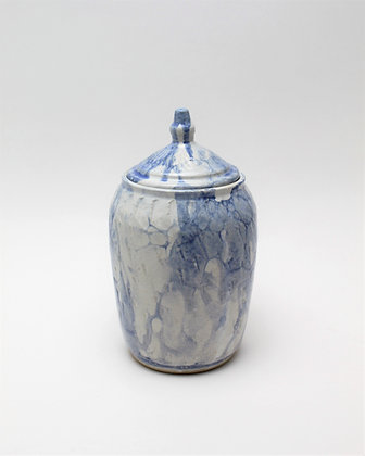 Bubble Glazed Jar