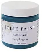 Jolie blue chalk paint matte