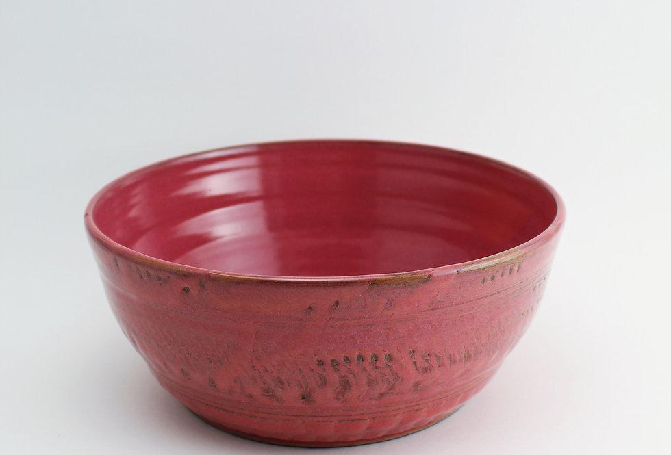 Pink Salad Bowl